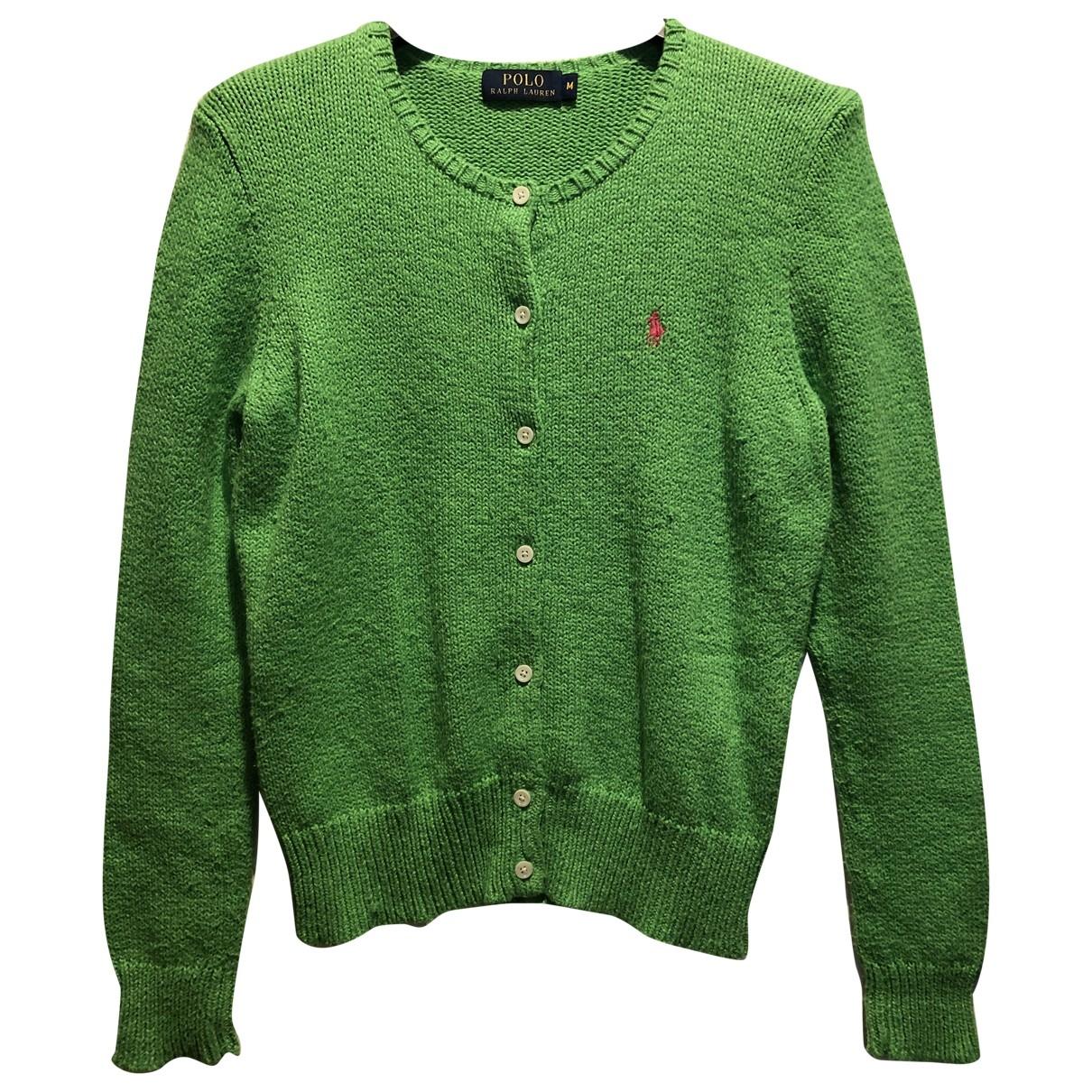 Polo Ralph Lauren \N Green Cotton Knitwear for Women M International