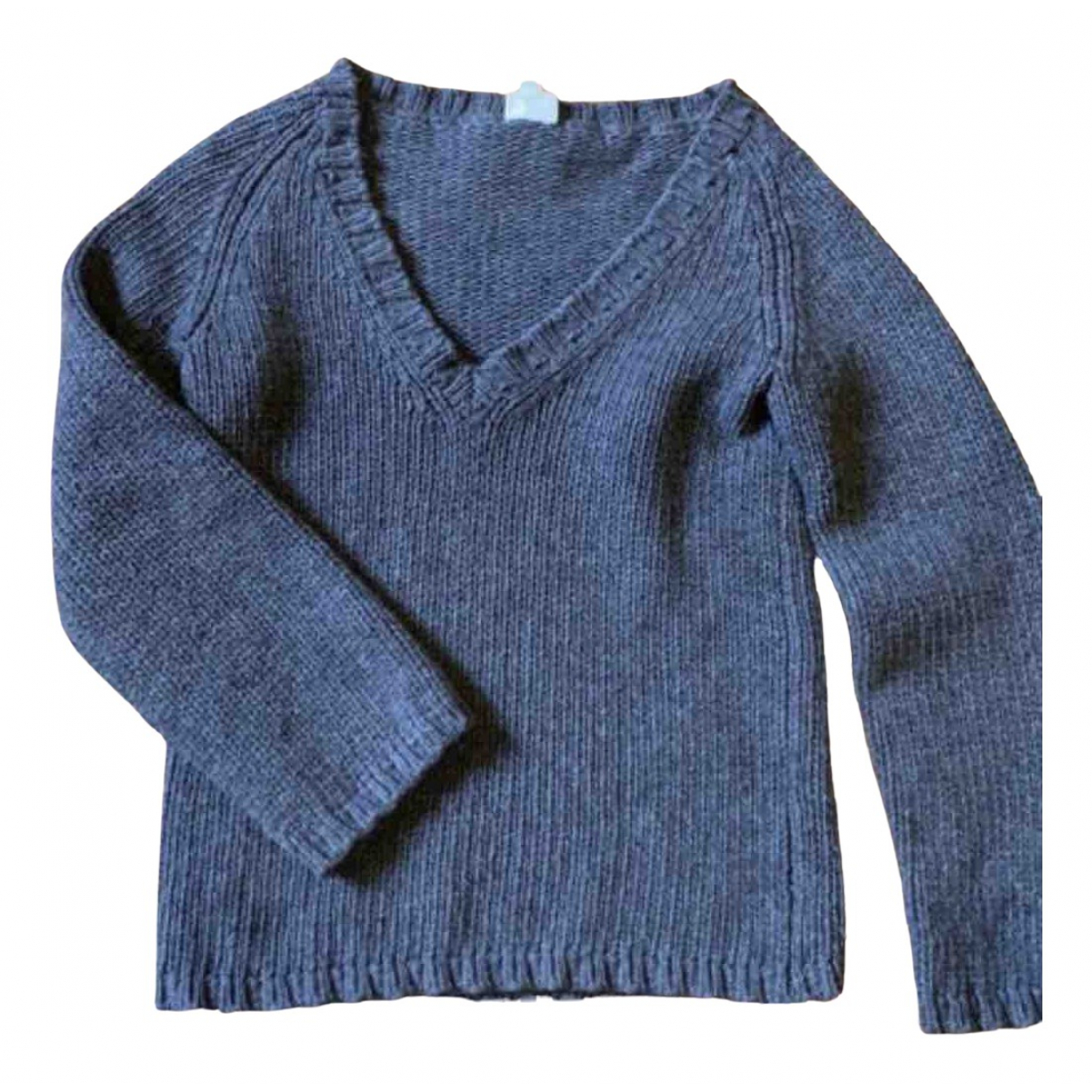 Soeur N Anthracite Wool Knitwear for Women 36 FR