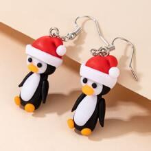 Christmas Cartoon Animal Drop Earrings