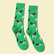 Calcetines de hombres con patron de Yin & Yang