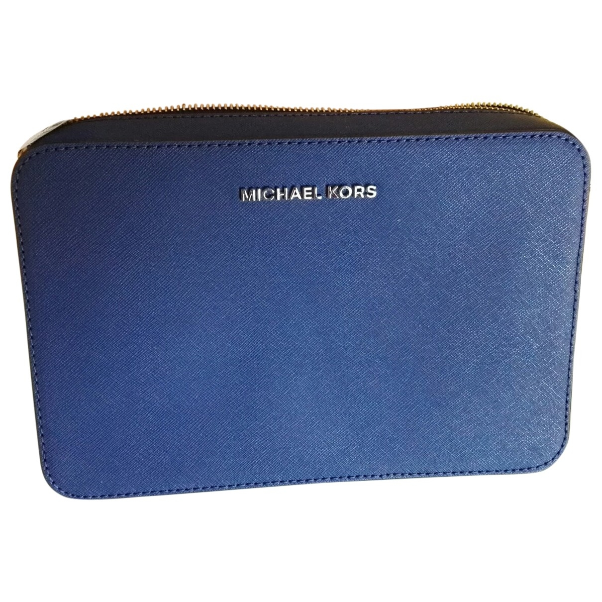 Michael Kors \N Blue Leather Clutch bag for Women \N