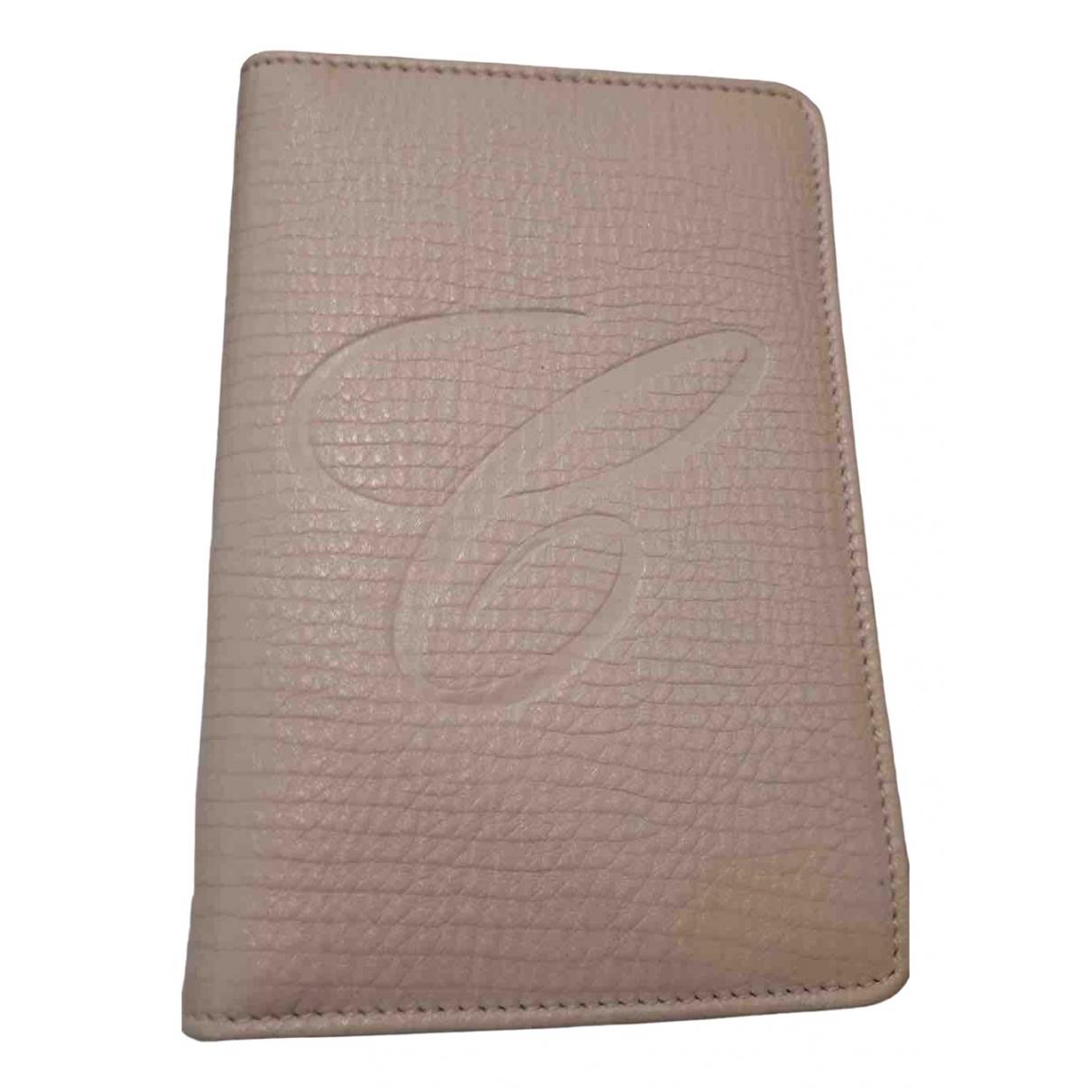 Chopard - Petite maroquinerie   pour femme en cuir - rose