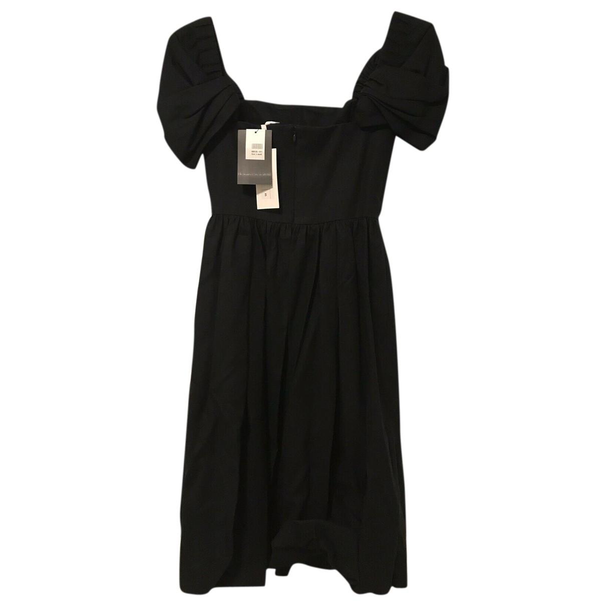 Co \N Black Cotton dress for Women XS International