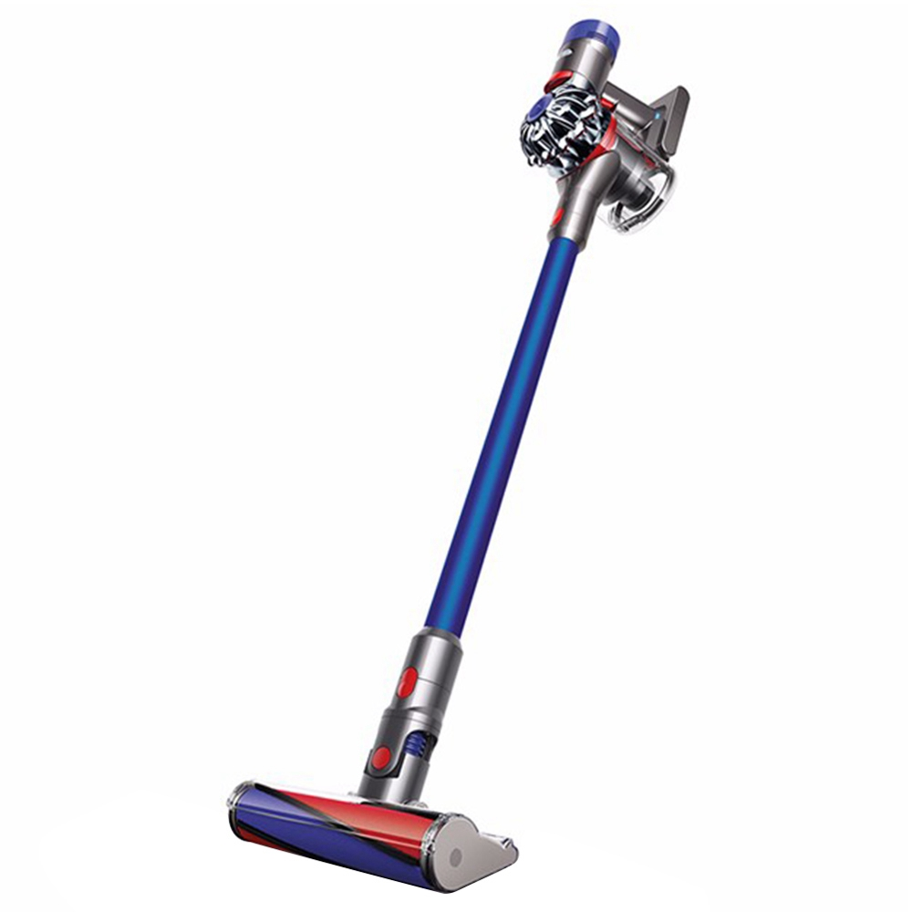 Dyson V7 FLUFFY Cordless Lightweight Vacuum Cleaner 100AW Suction Anti-mite For Hard Floors - Blue