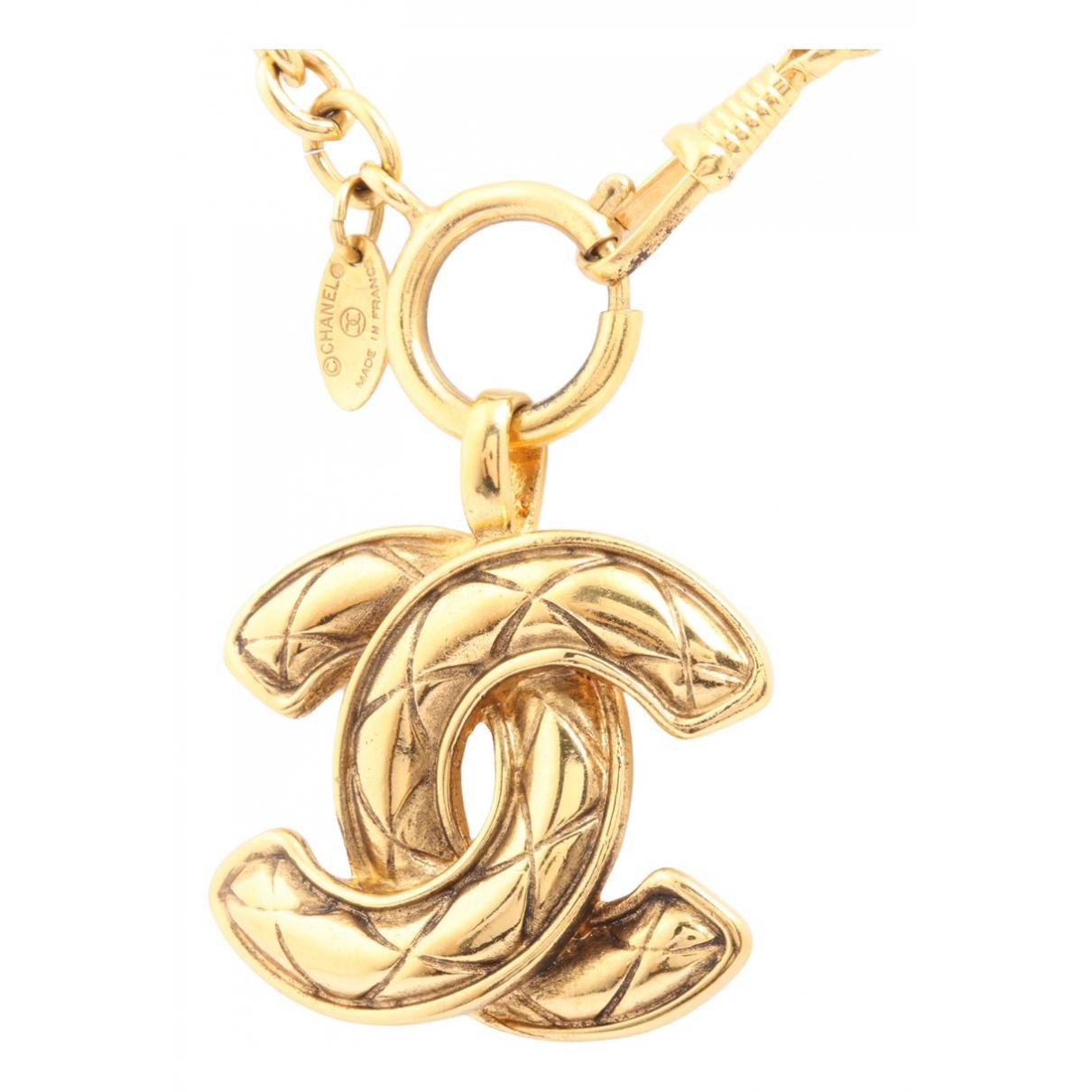 Chanel CC Kette in  Gold Vergoldet