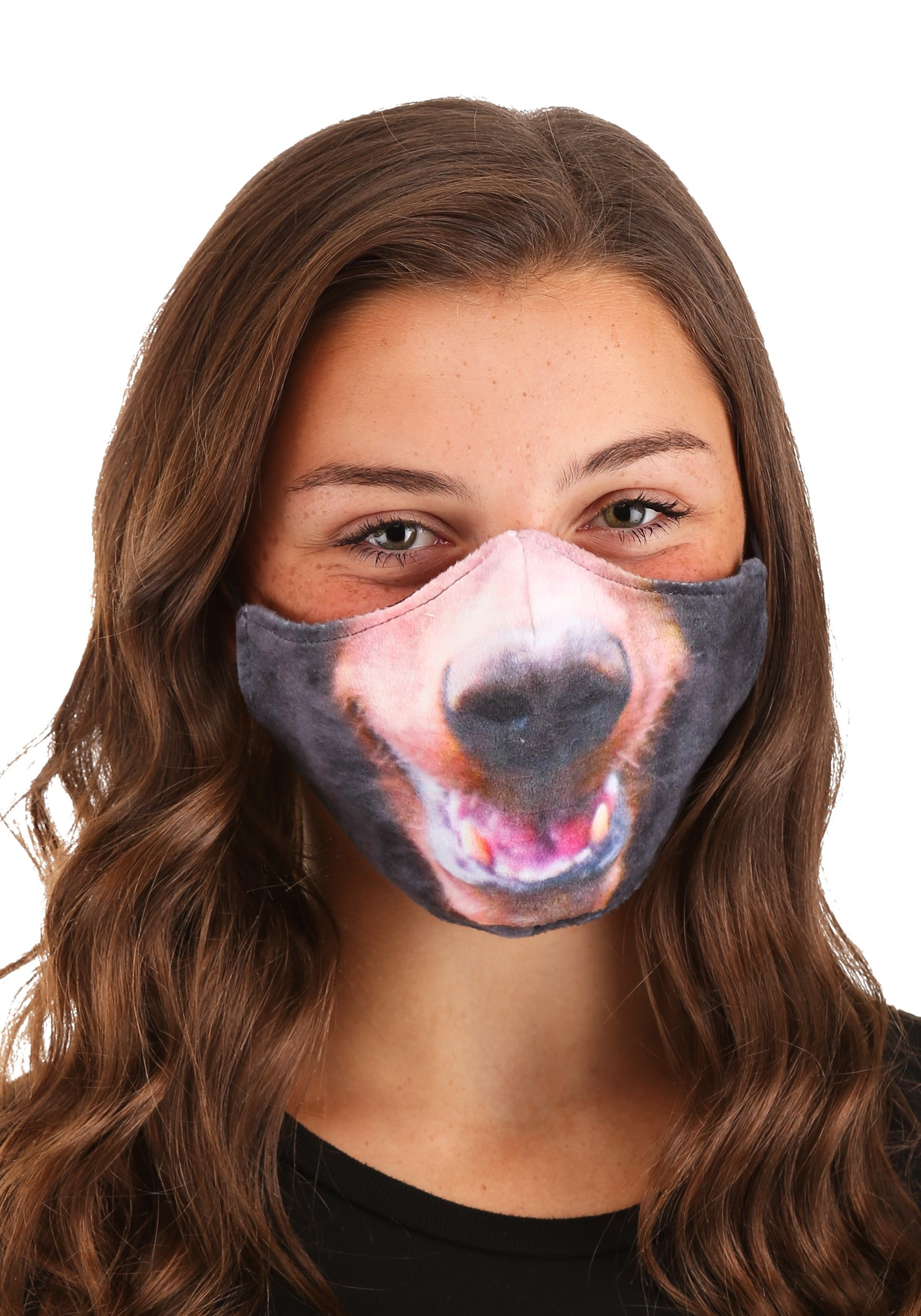 Bear Sublimated Face Mask for Adults