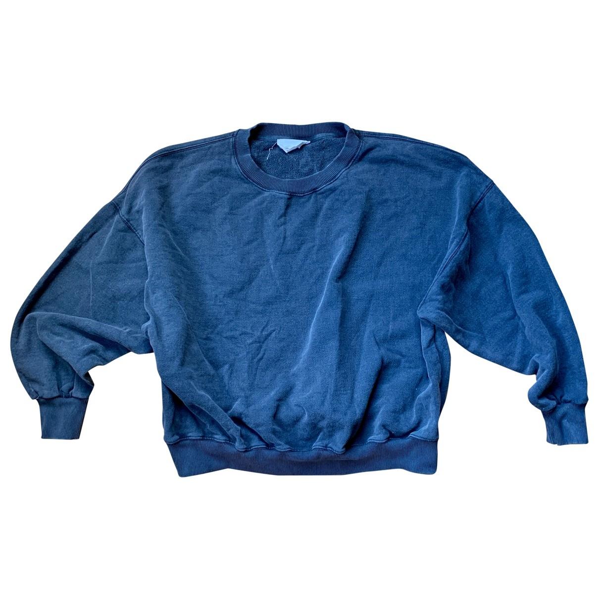 American Vintage \N Pullover in  Anthrazit Baumwolle