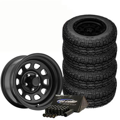 Pro Comp 31x10.50R15, A/T Sport and Trail Master TM5 Wheel 15x8 Package - TIREPKG265