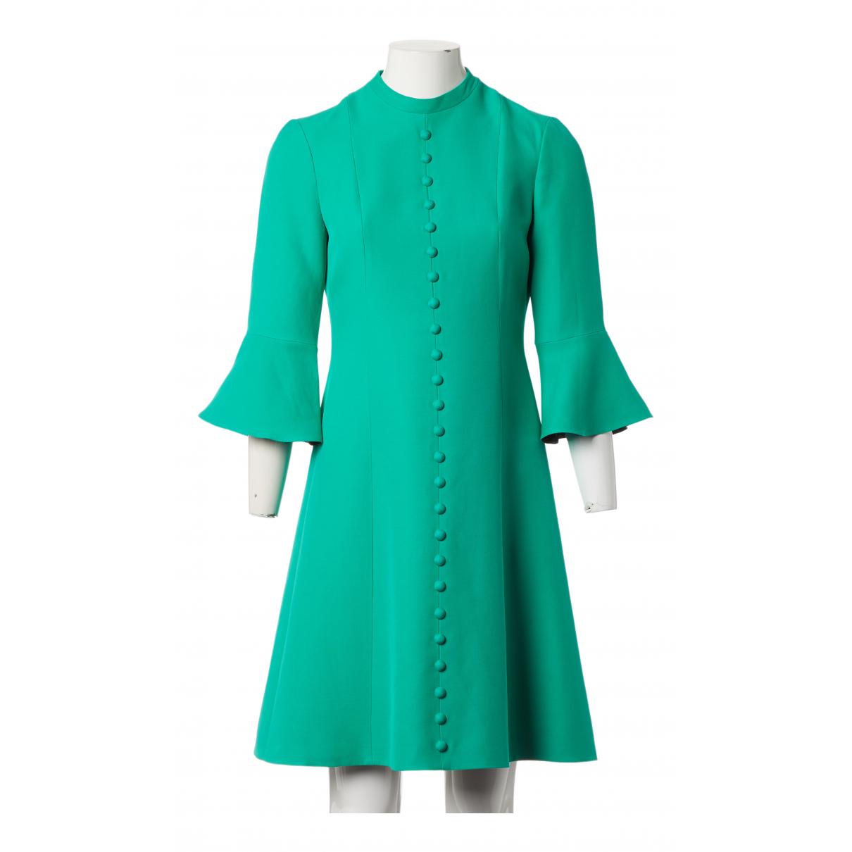Gucci N Green Wool dress for Women 40 IT