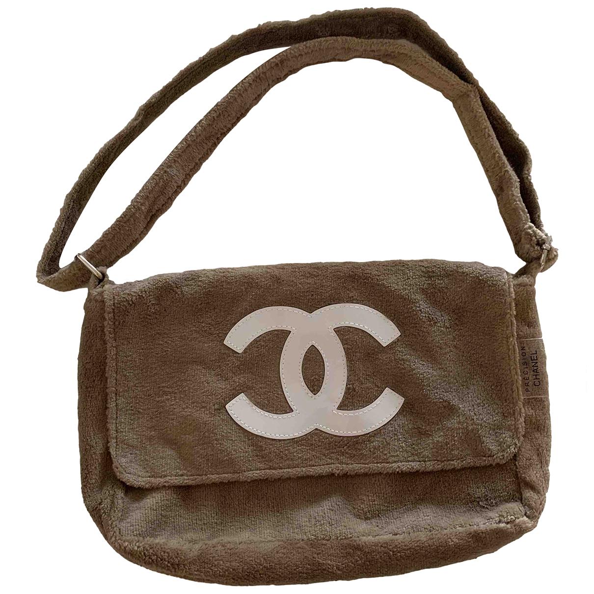 Bolsos clutch en Sintetico Camel Chanel
