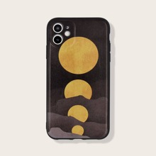 iPhone Schutzhuelle mit Mond Muster