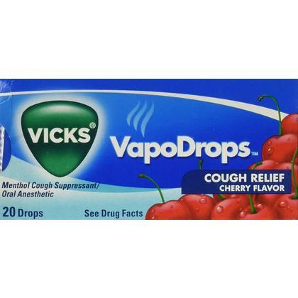 Vicks Soulagement de la toux VapoDrops - Cerise 1Pc