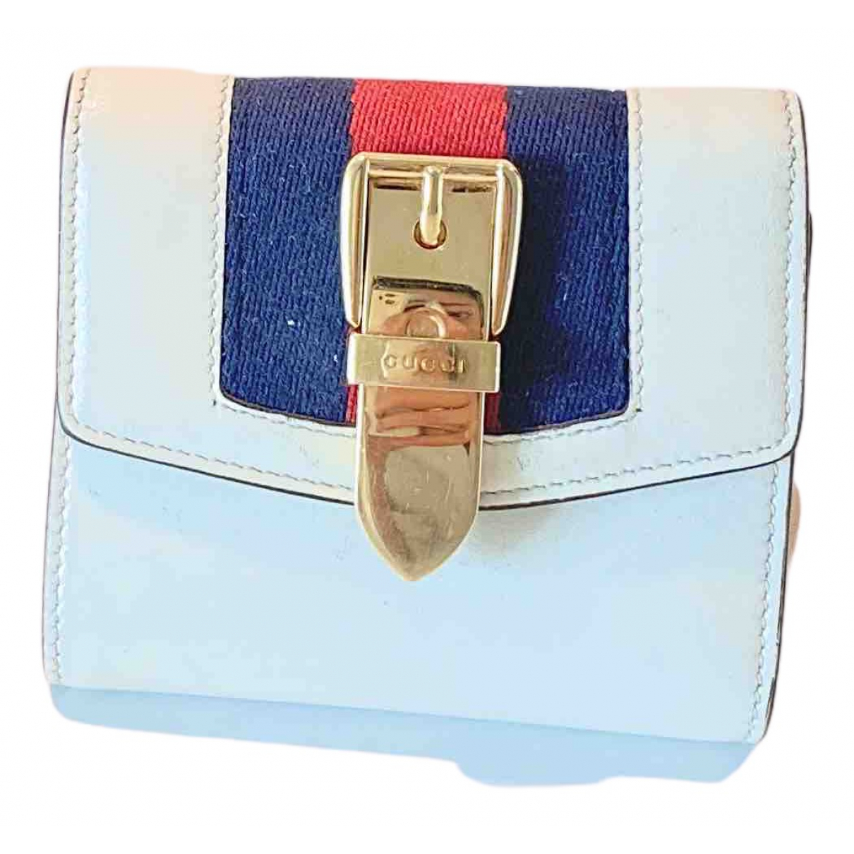 Gucci Sylvie White Leather wallet for Women N