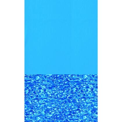 NL289-20 Blue Swirl 30-Ft Round Standard Gauge Overlap Liner - 48/52
