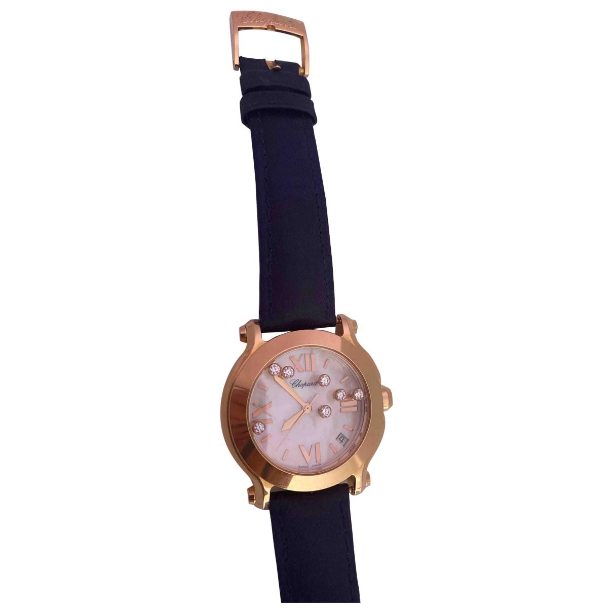 Reloj Happy Sport de Oro amarillo Chopard