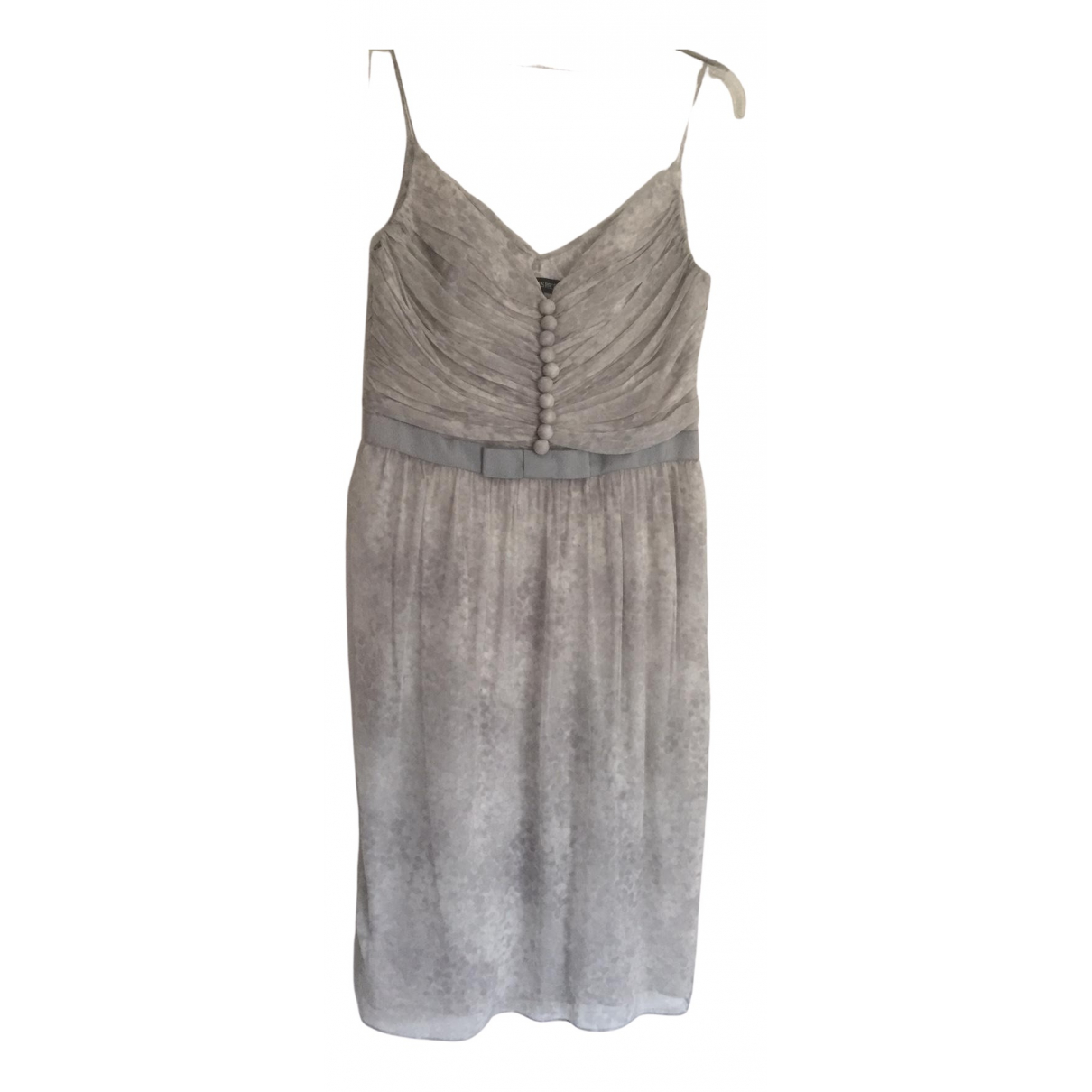 Georges Rech \N Kleid in  Grau Seide