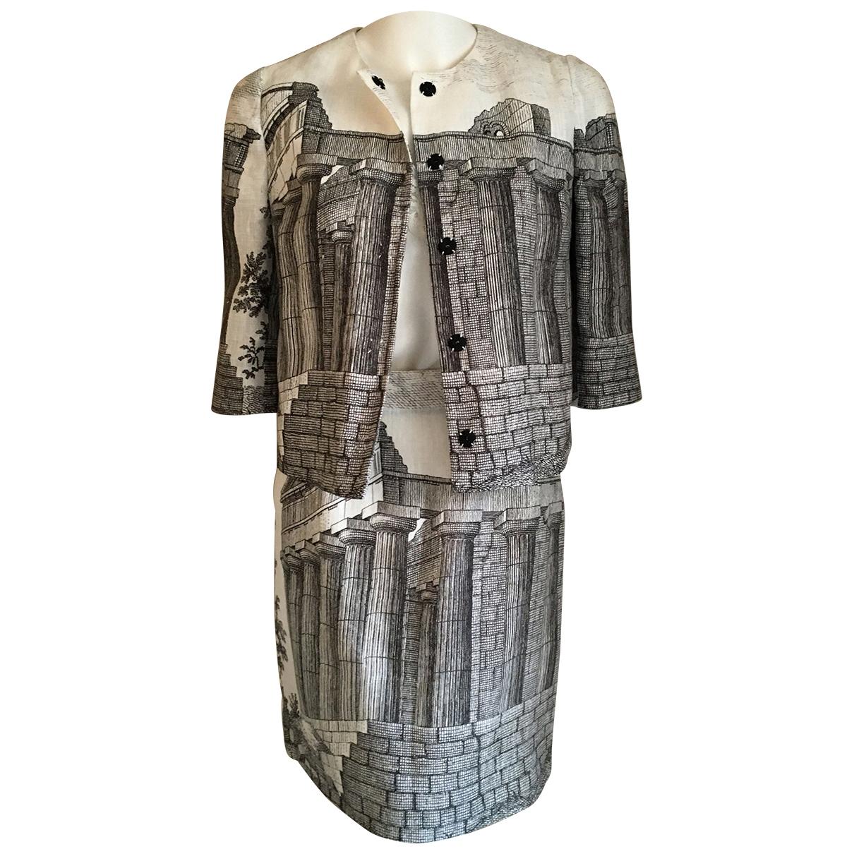 Dolce & Gabbana \N Rocke in  Grau Leinen