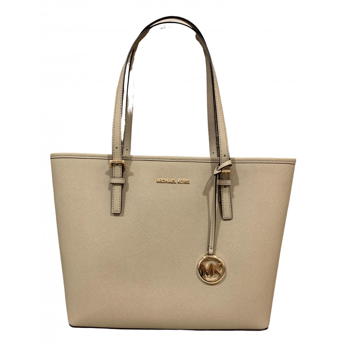 Michael Kors Jet Set Beige Leather handbag for Women \N