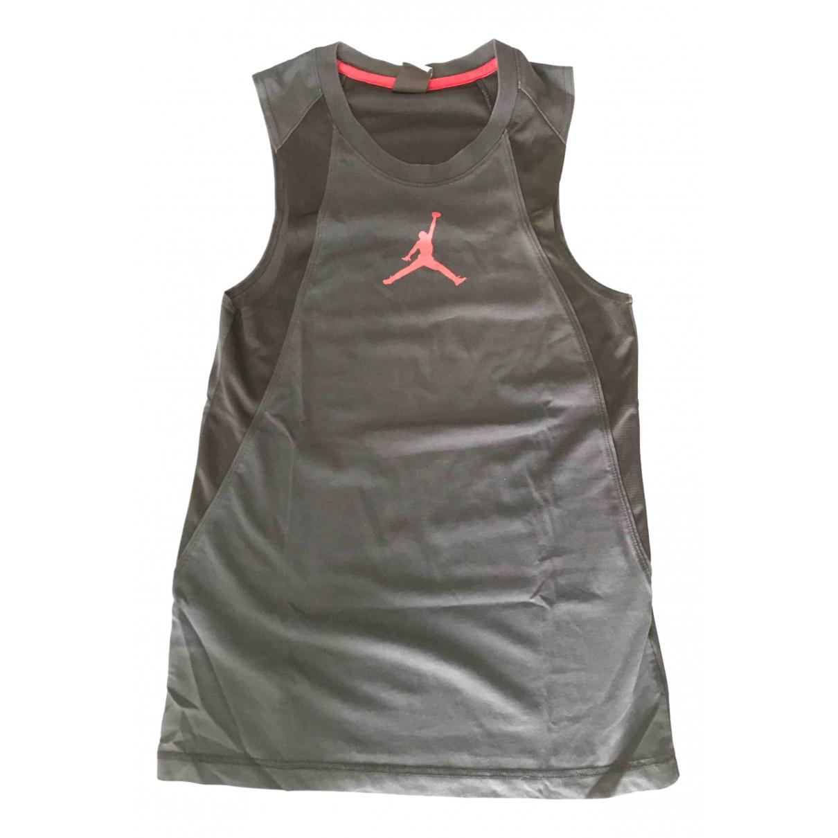 Jordan - Top   pour femme en coton - noir