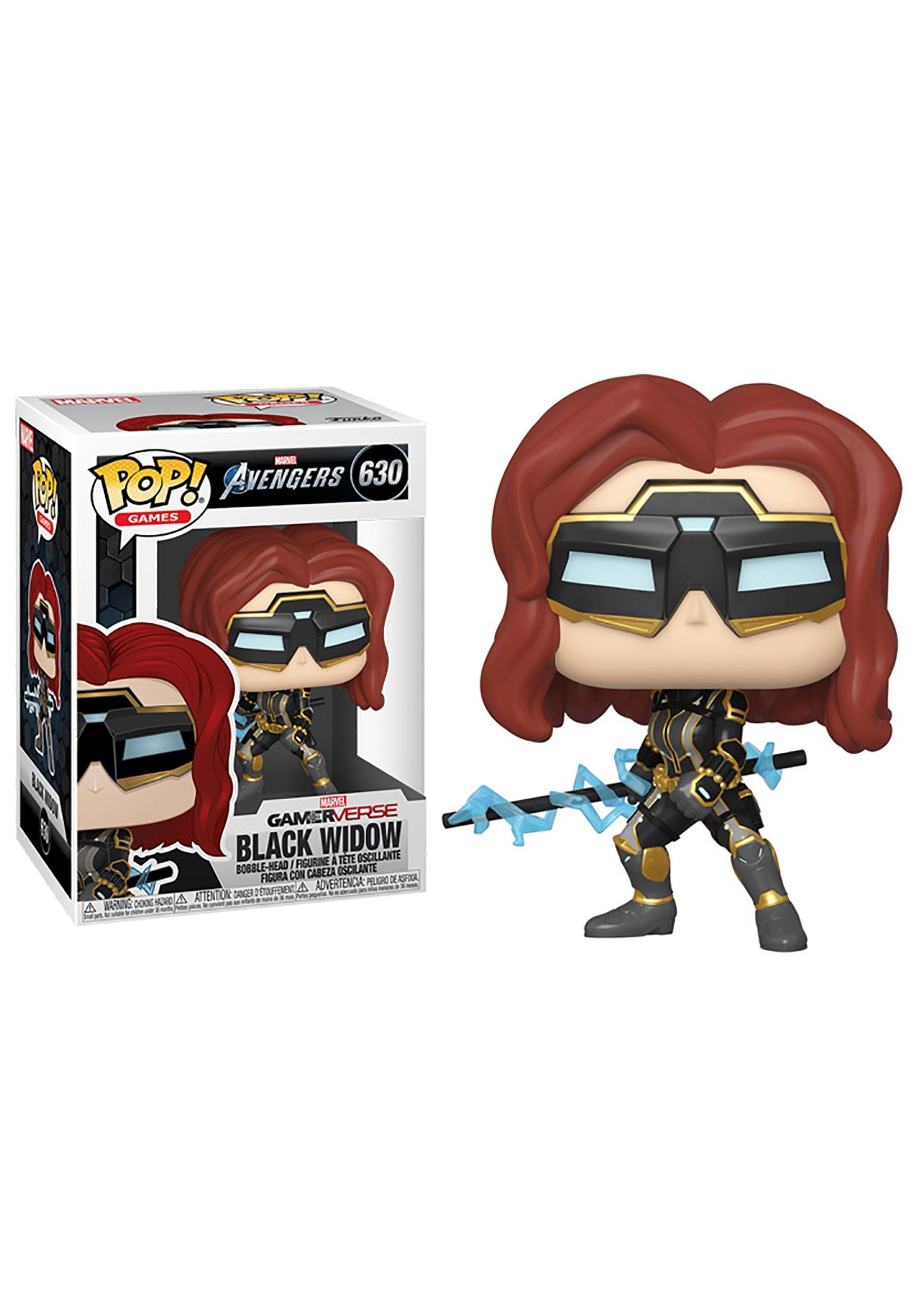 Funko POP! Marvel: Avengers GamerVerse- Black Widow Stark Tech Suit Bobblehead Figure