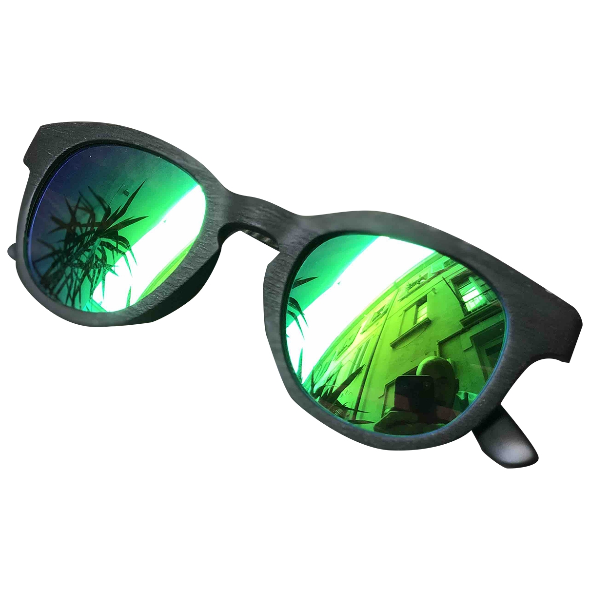 Non Signé / Unsigned \N Anthracite Sunglasses for Men \N