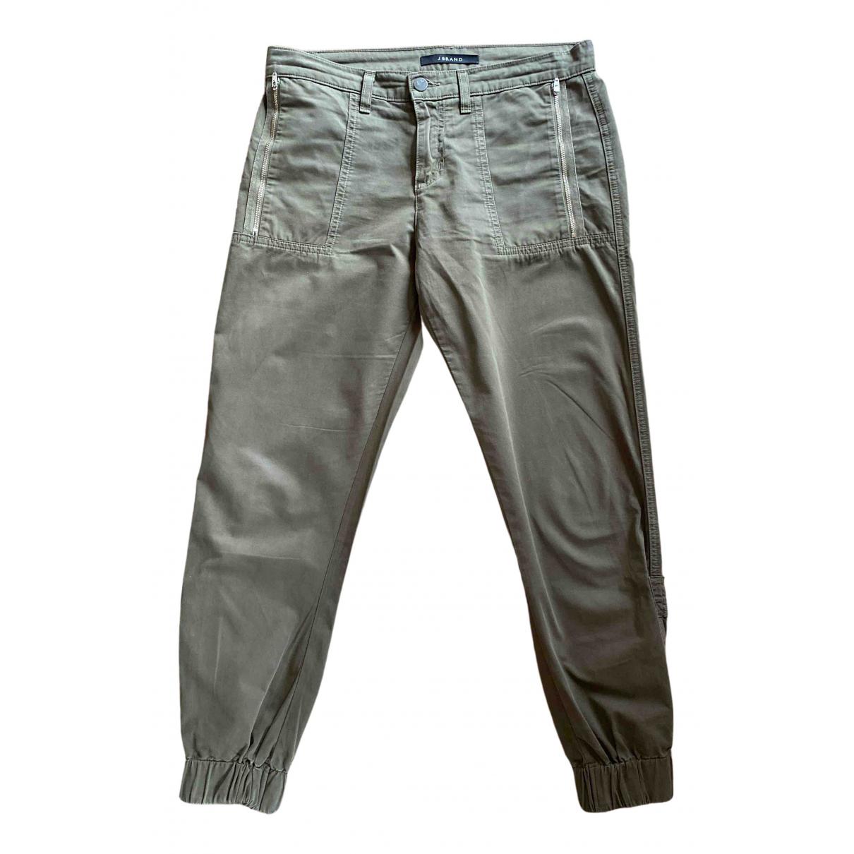 Pantalon en Algodon Caqui J Brand