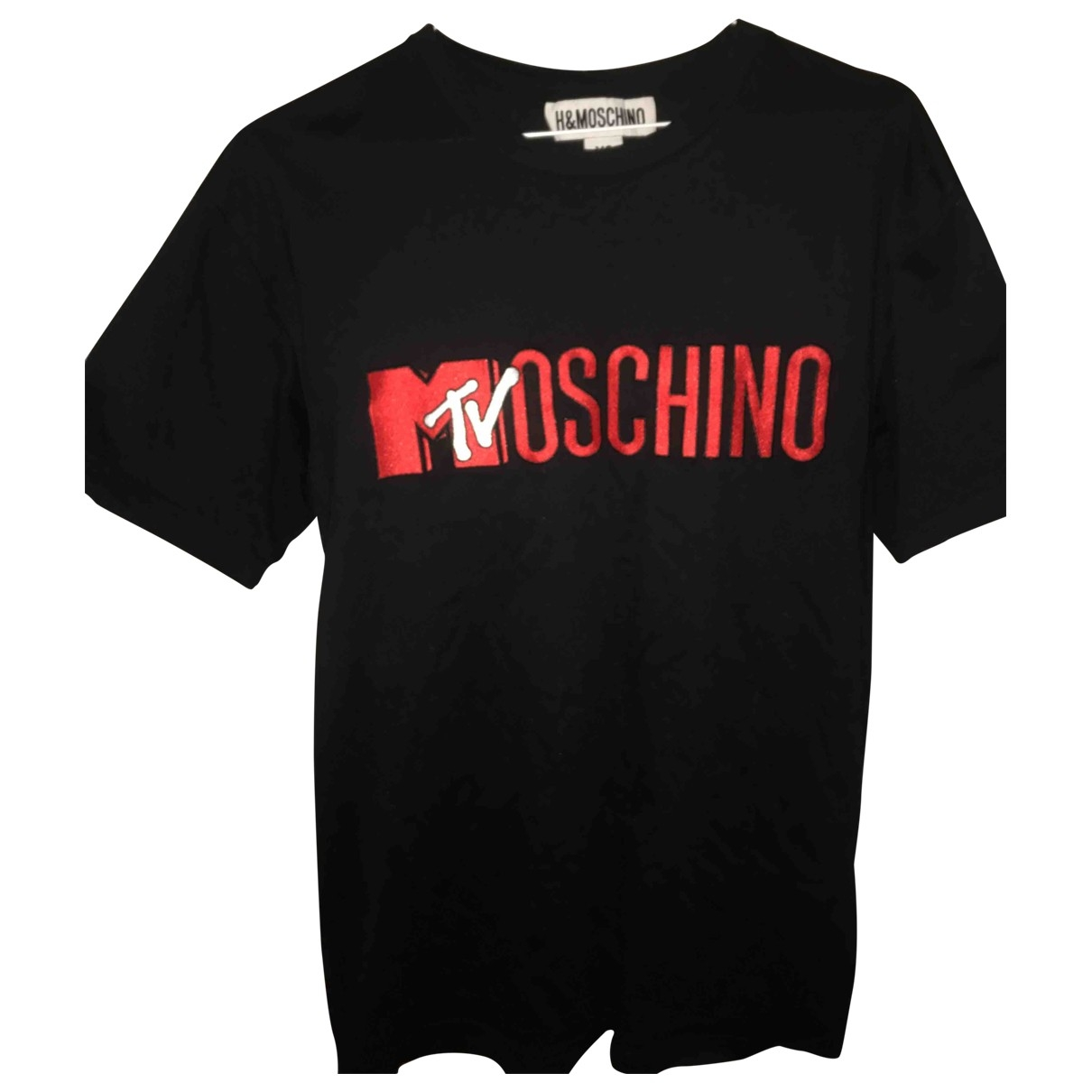 Moschino For H&m \N Black Cotton T-shirts for Men XS International