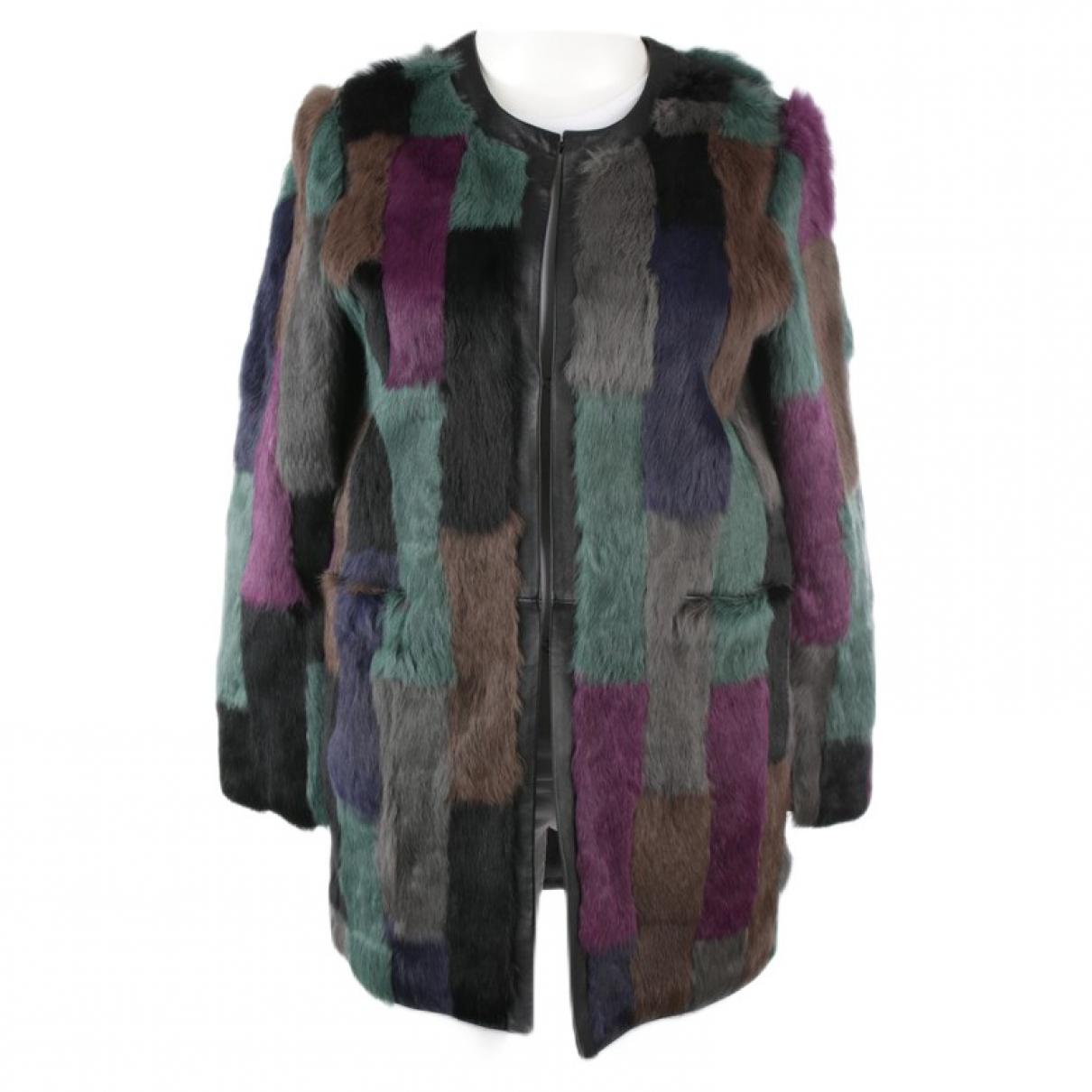 Steffen Schraut \N Multicolour Fur jacket for Women 40 FR