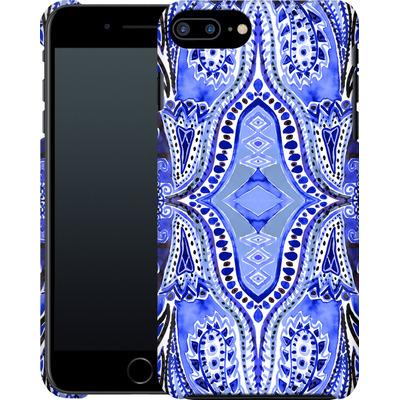 Apple iPhone 7 Plus Smartphone Huelle - Paisley Blue von Amy Sia
