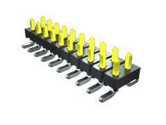 Samtec , TMM, 8 Way, 2 Row, Right Angle PCB Header (1000)