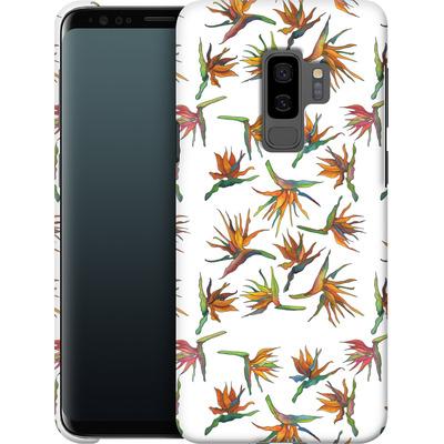 Samsung Galaxy S9 Plus Smartphone Huelle - Paradise Flower Pattern von Kaitlyn Parker
