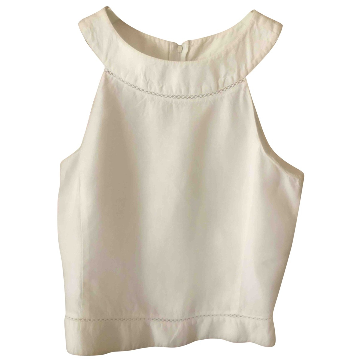Emporio Armani \N White Linen  top for Women 40 IT
