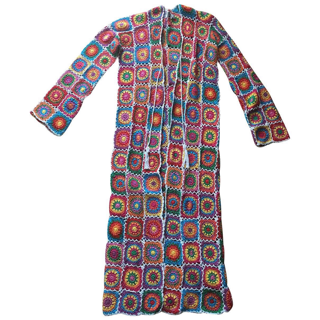 Autre Marque - Veste   pour femme en coton - multicolore