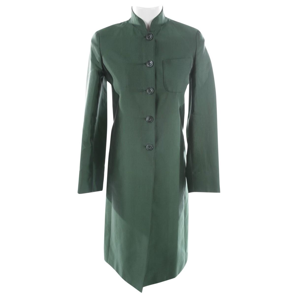 Prada \N Green Cotton jacket for Women 34 FR