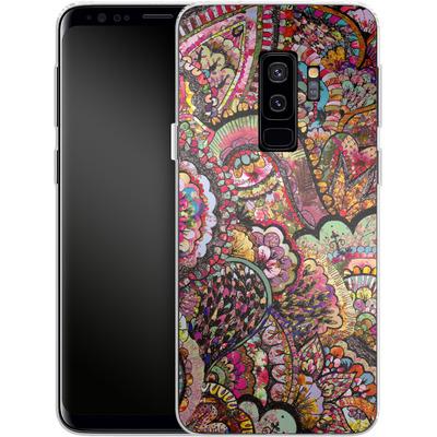 Samsung Galaxy S9 Plus Silikon Handyhuelle - Her Hair Les Fleur von Bianca Green