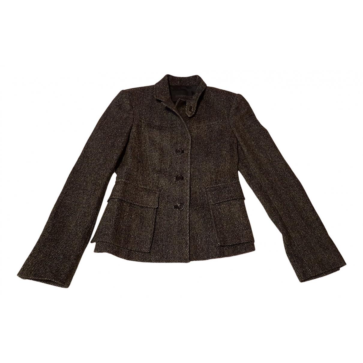 Ermanno Scervino \N Multicolour Wool jacket for Women 42 IT