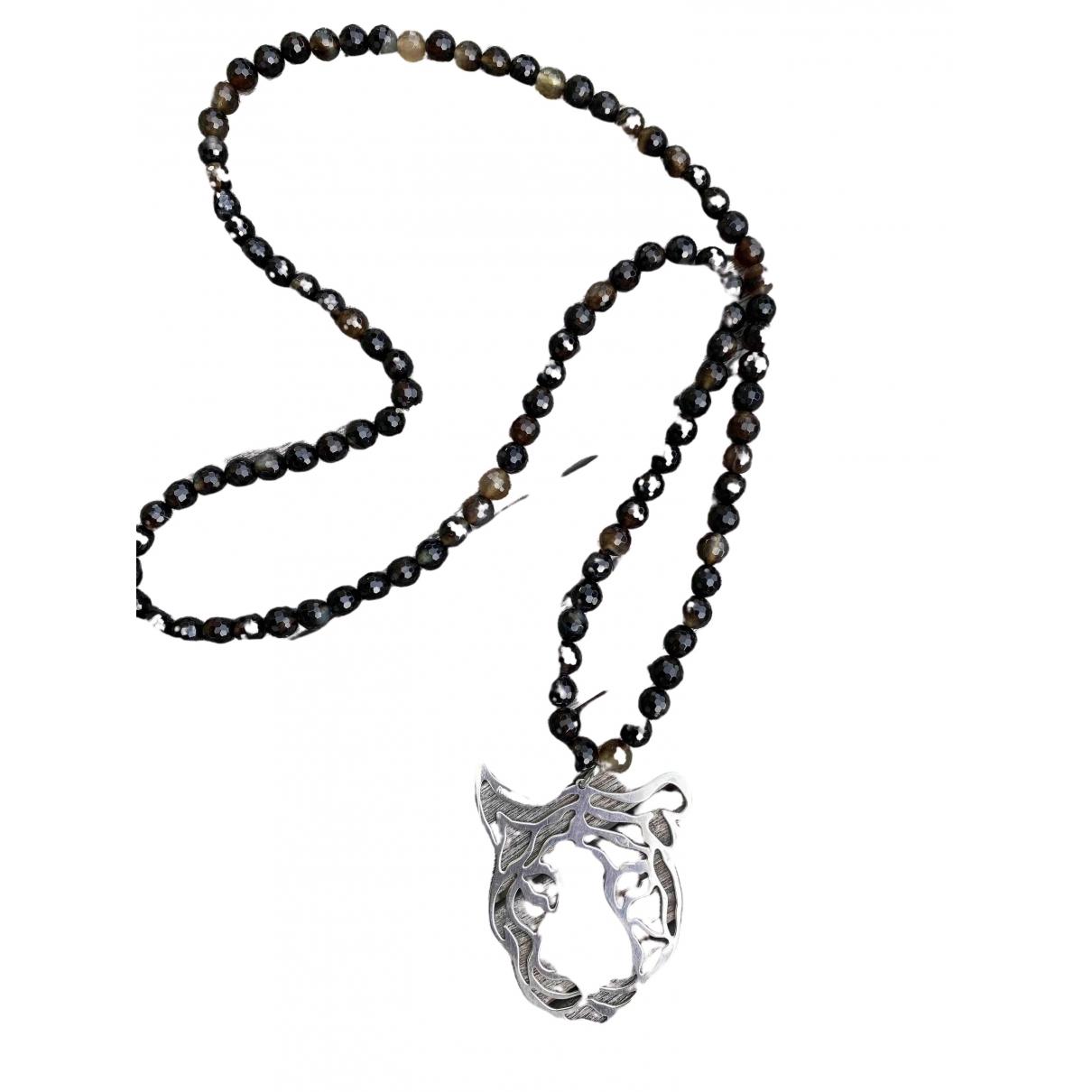 Rita & Zia \N Halskette in  Silber Silber