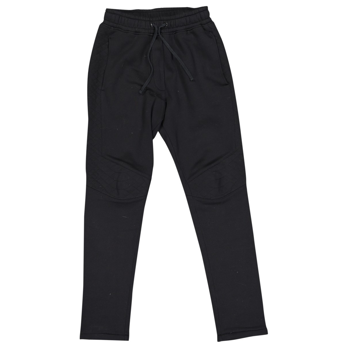 Balmain \N Black Cotton Trousers for Men S International