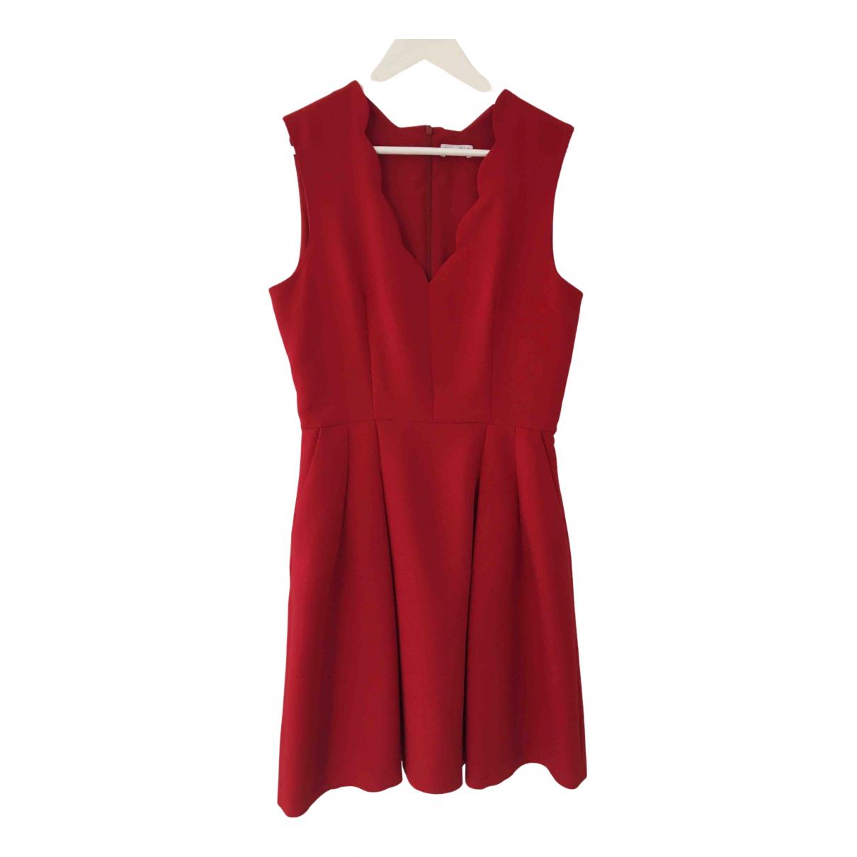 Claudie Pierlot - Robe   pour femme - rouge