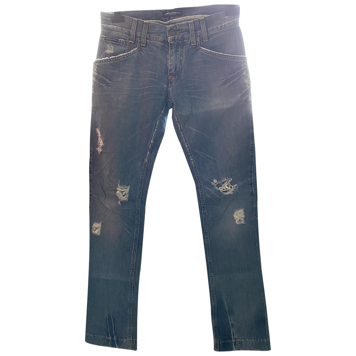 Dolce & Gabbana \N Cotton Jeans for Men 32 US