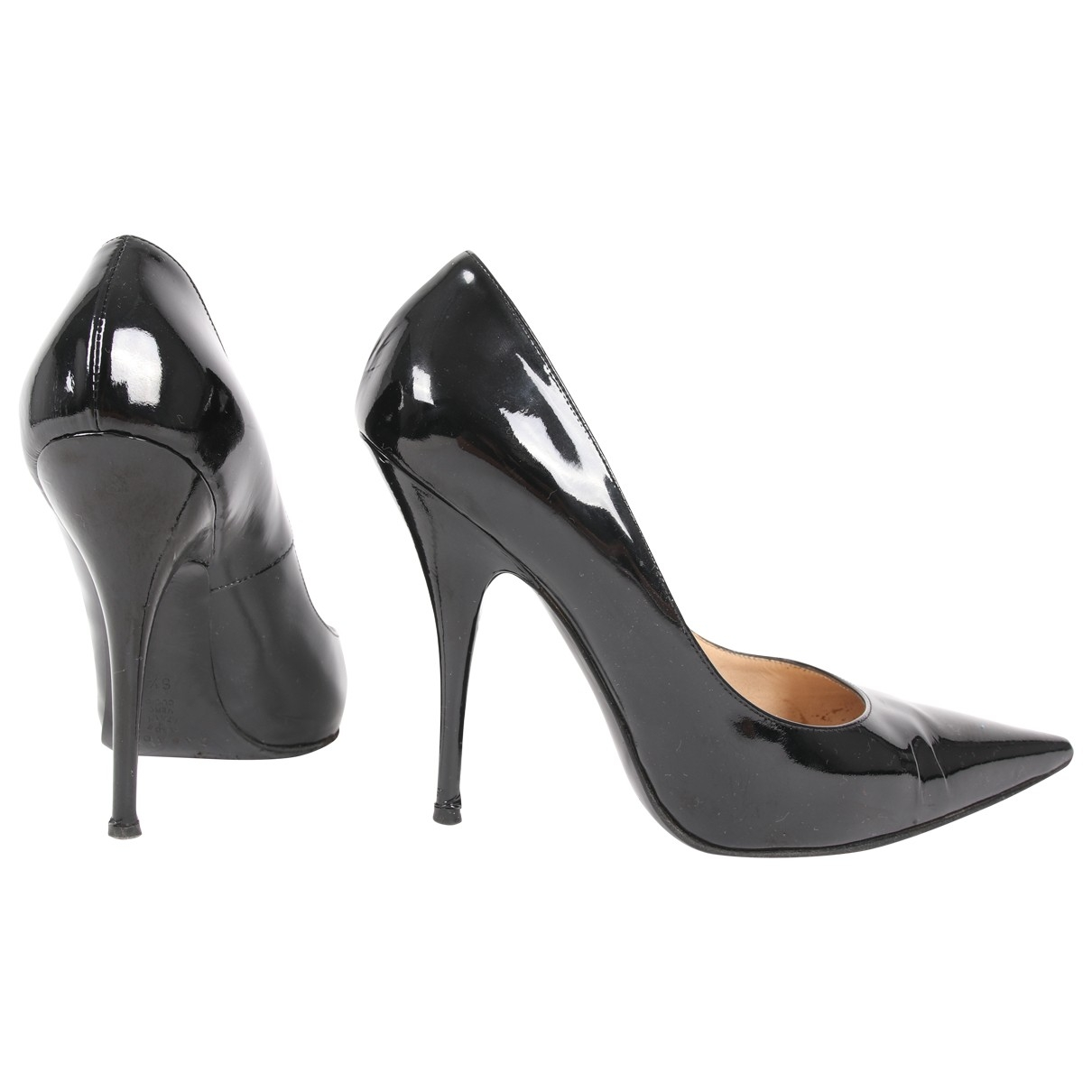 Casadei \N Black Patent leather Heels for Women 6.5 US