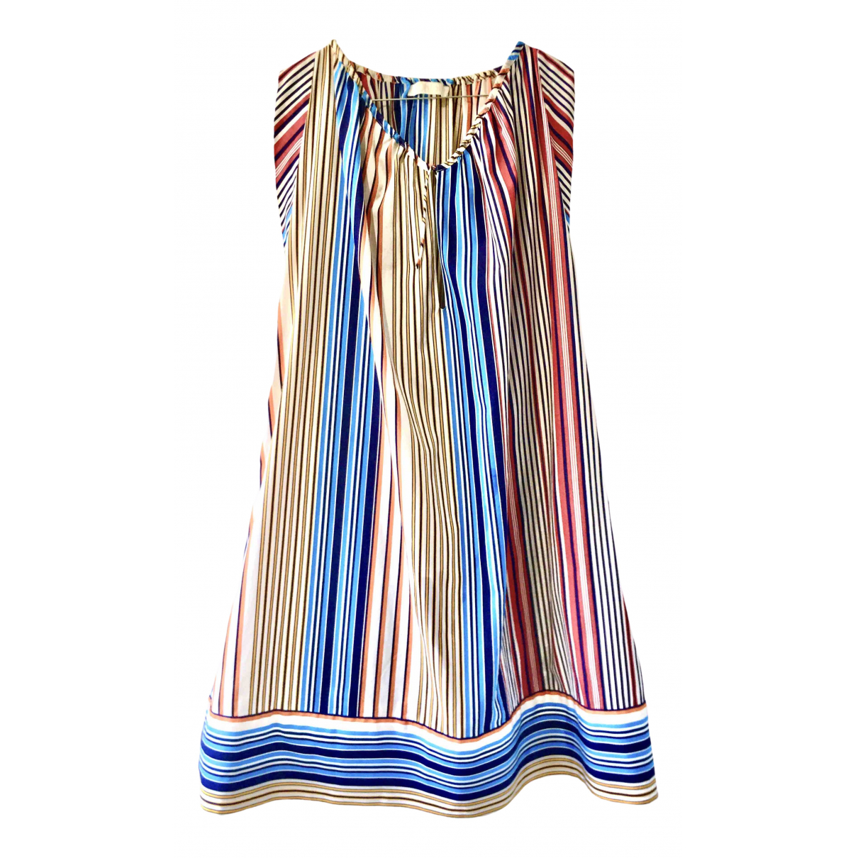 Chloé \N Multicolour Cotton dress for Women 42 FR