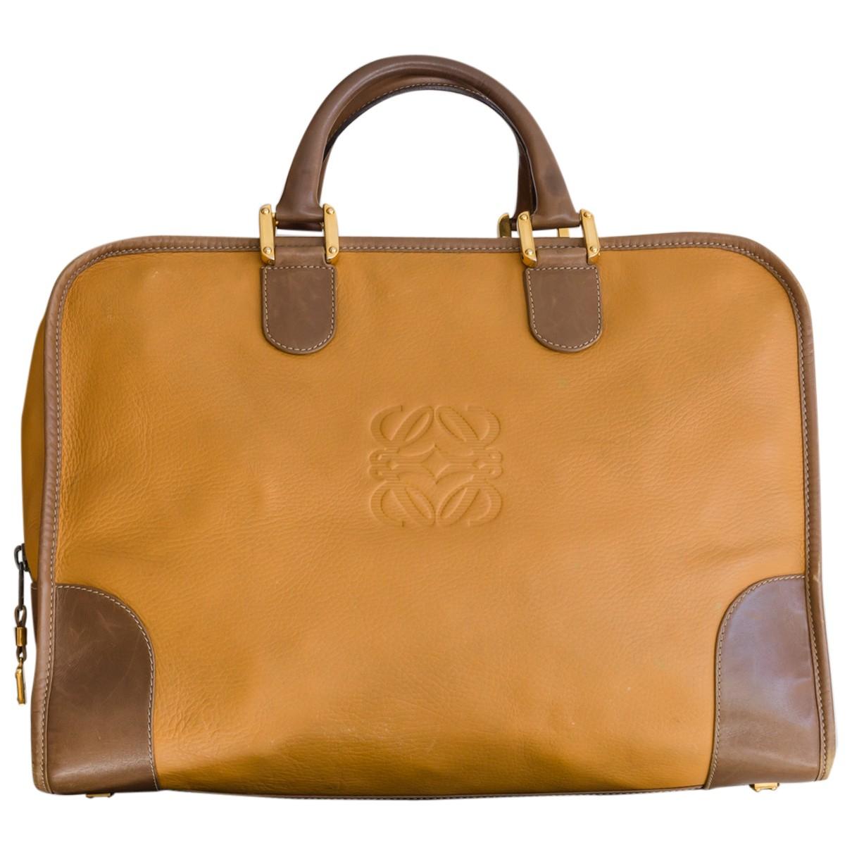 Loewe Amazona Handtasche in  Bunt Leder