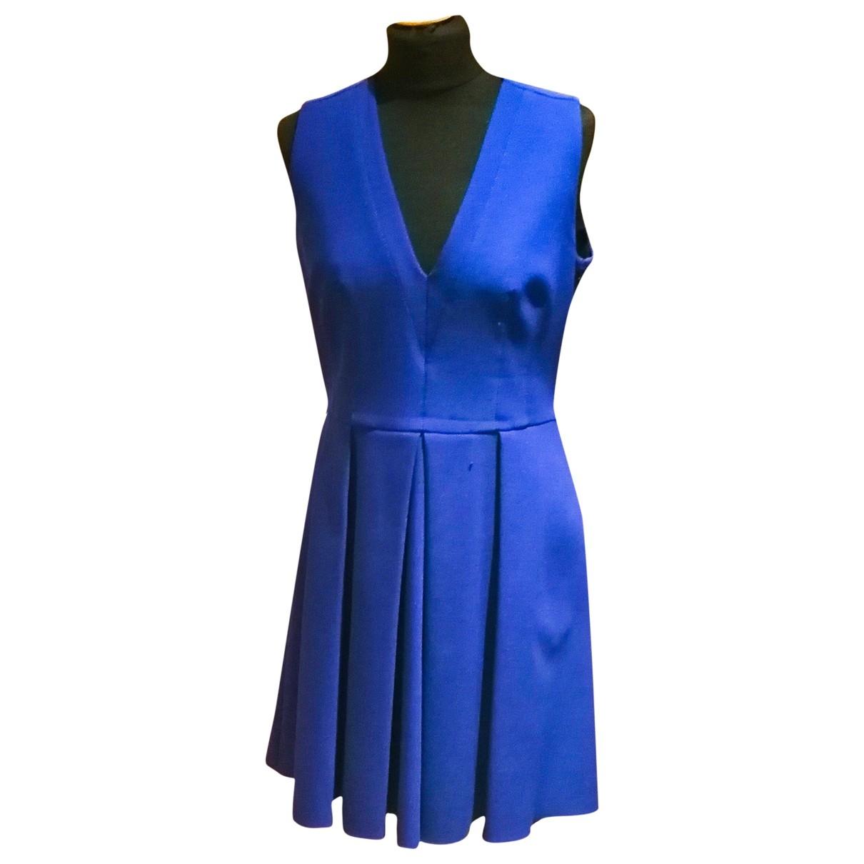 Proenza Schouler \N Blue Wool dress for Women 10 US