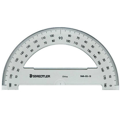 STAEDTLER@ Angle Measuring Tool Protractor (180°, 6) 195222