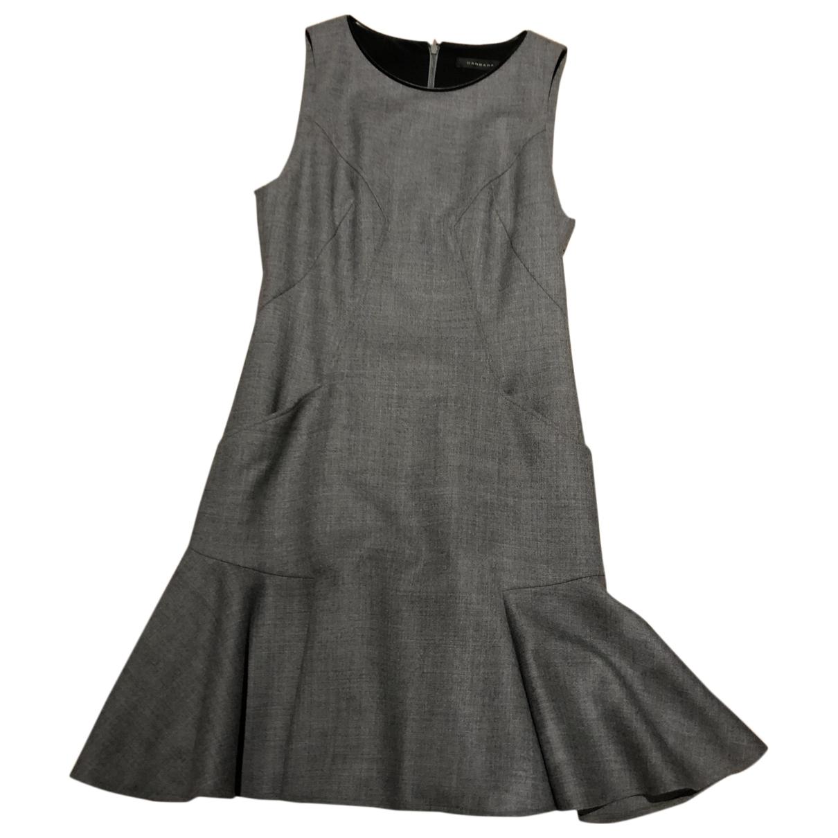 Barbara Bui \N Grey Wool dress for Women 38 FR