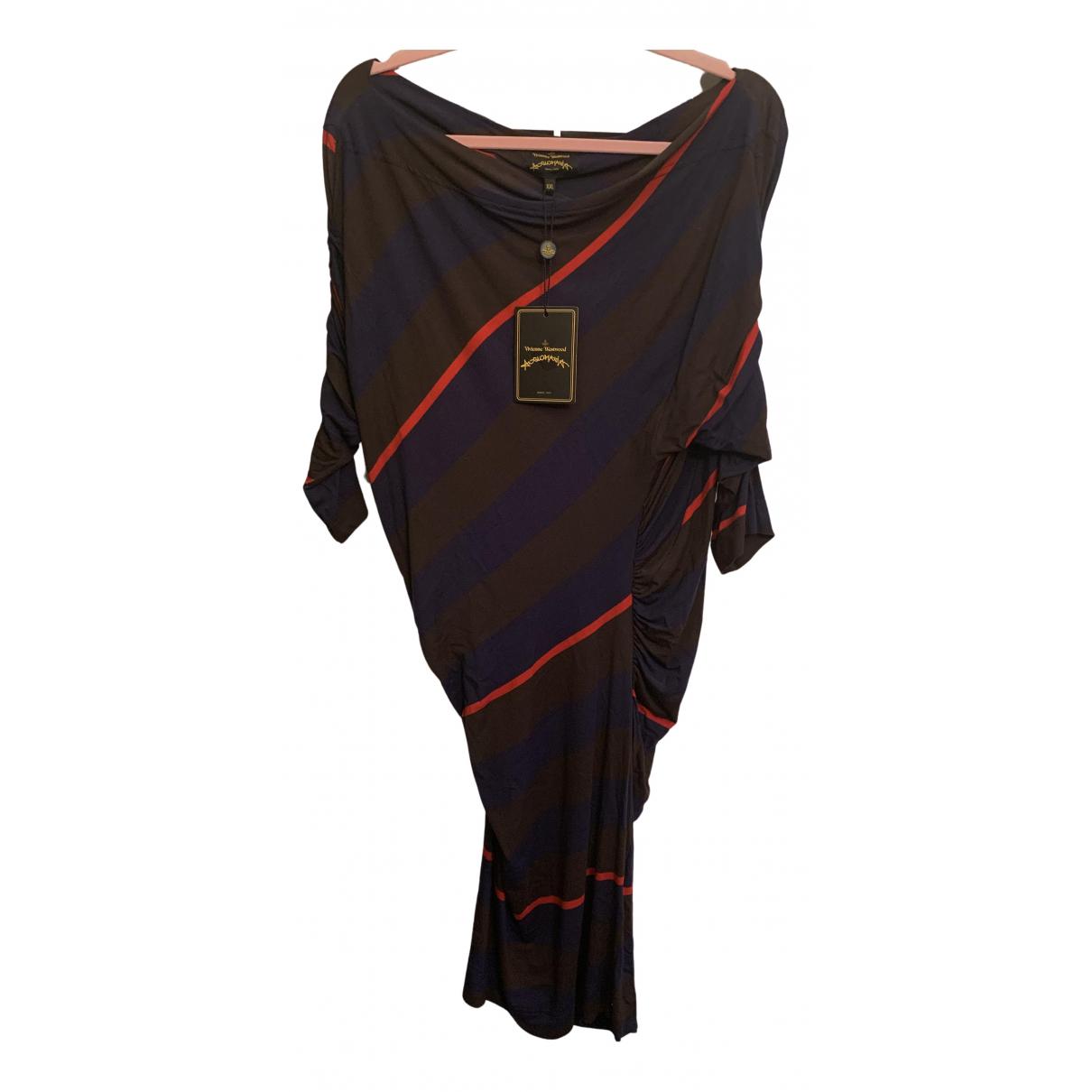 Vivienne Westwood Anglomania \N Kleid in  Braun Viskose