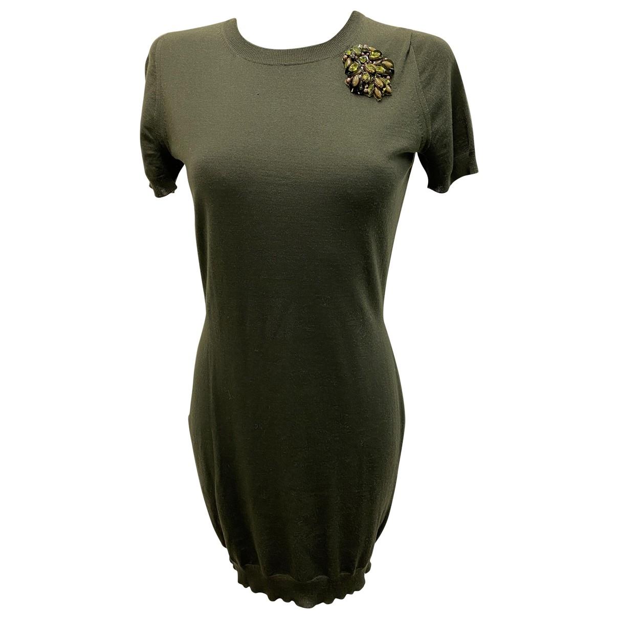 Gucci \N Khaki Wool dress for Women S International