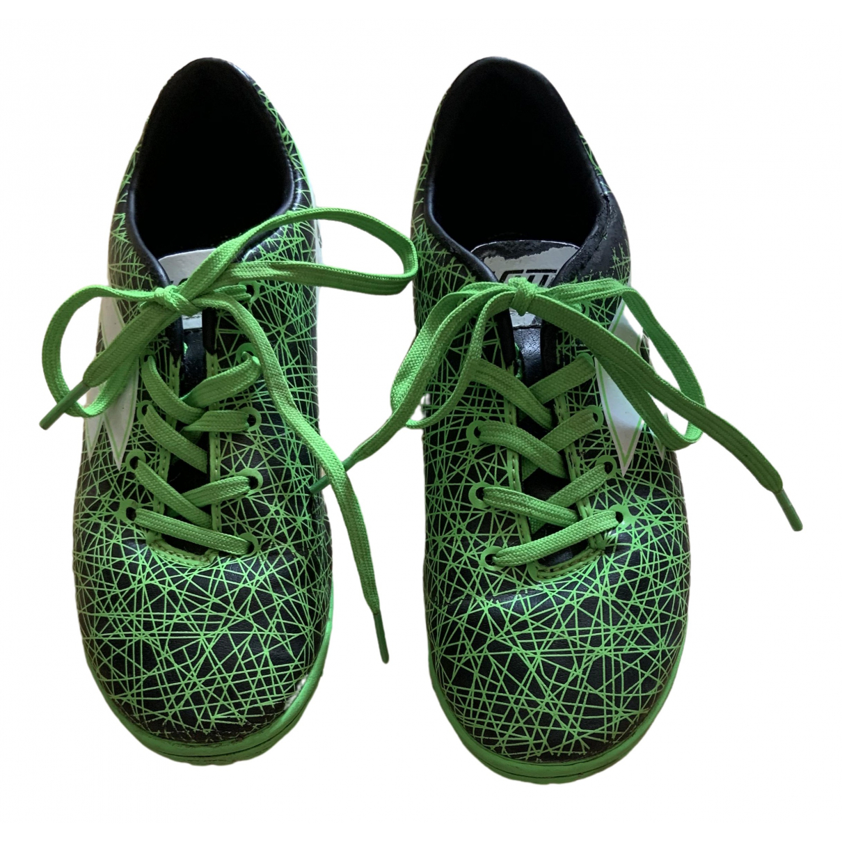 Lotto \N Green Leather Trainers for Kids 13 US