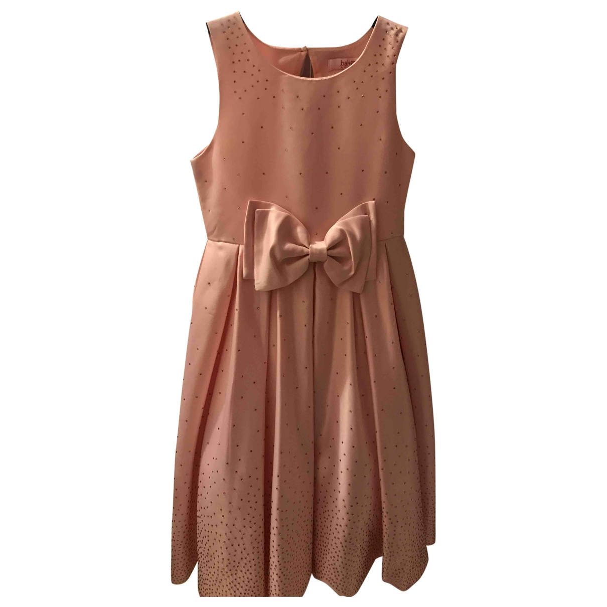 Ted Baker - Robe    pour enfant - rose